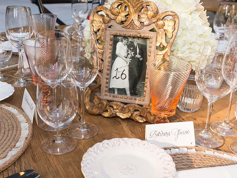 3. Rustic Napa Table Top Decor