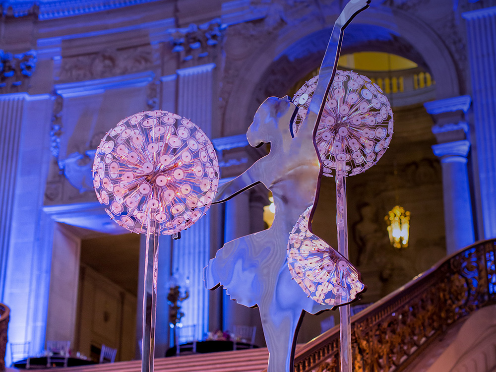 5. SF Ballet Gala Decor