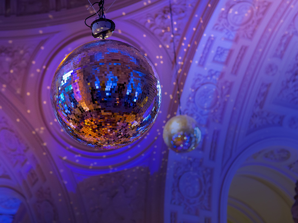 7. SF Ballet Gala Mirror Ball