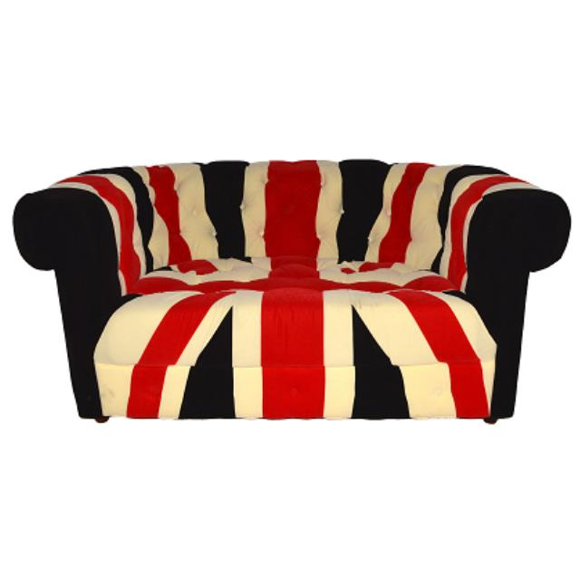 Where to find Union Jack Loveseat in San Francisco