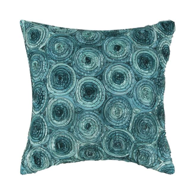 Where to find Teal Roses Pillow in San Francisco