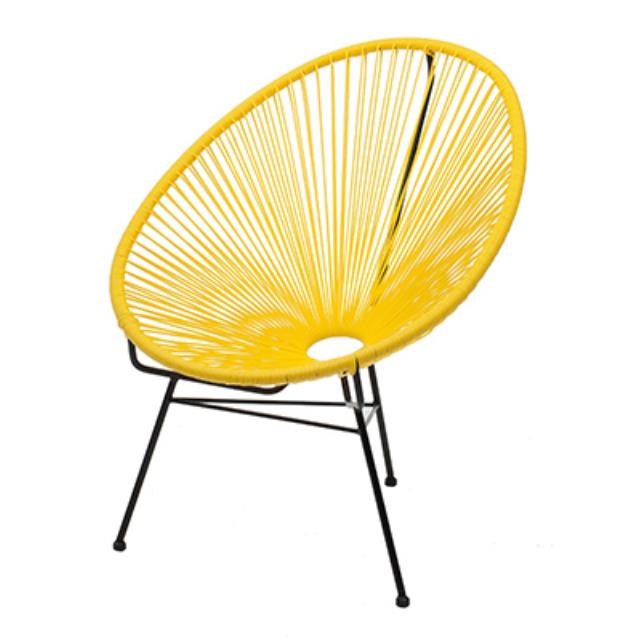 Where to find Acapulco Chair - Yellow in San Francisco